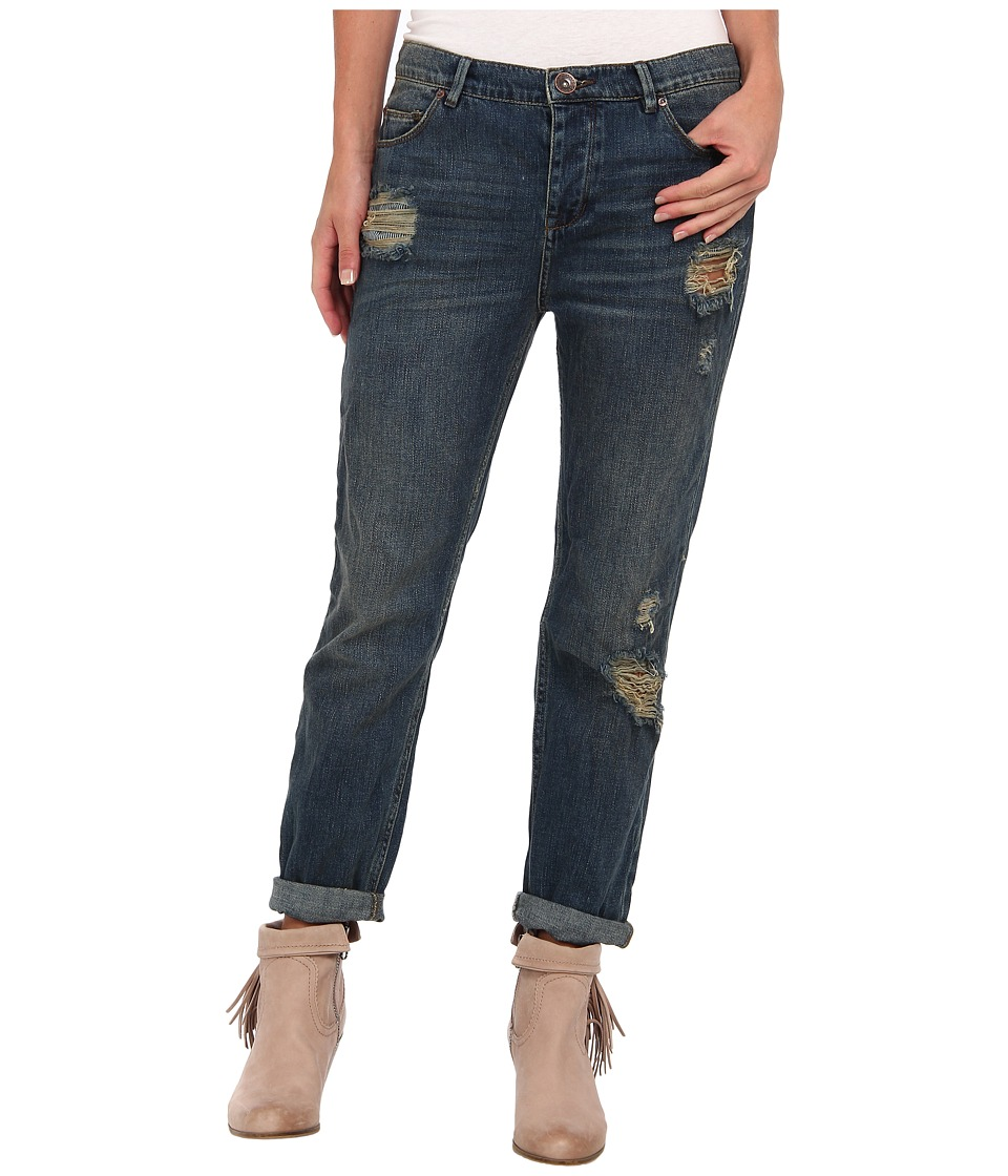 Free People - Boyfriend Jean (Lotus) Women