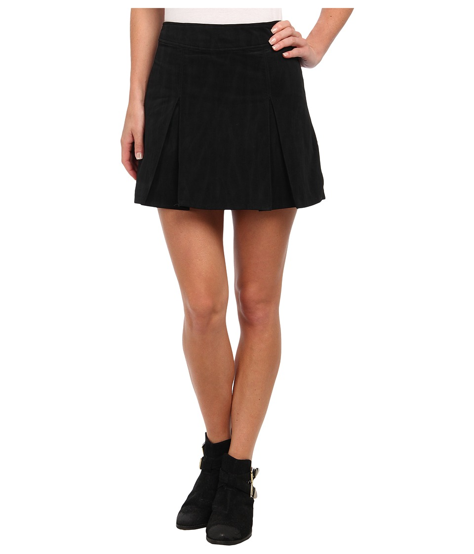 Free People - Hard Days Skirt (Black) Women's Skirt