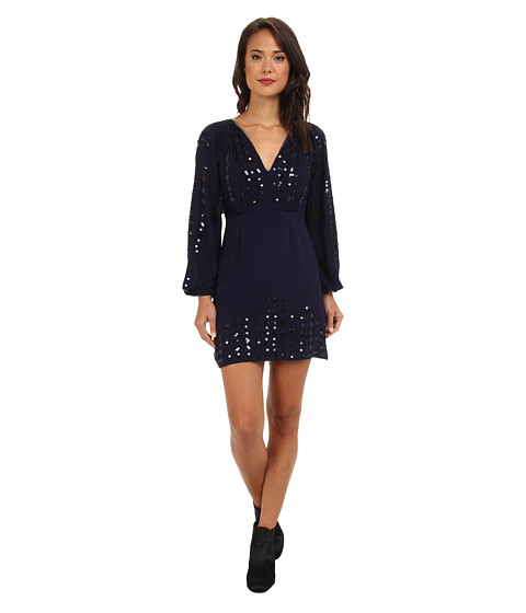 Free People - Desert Perfume Dress (Indigo) Women