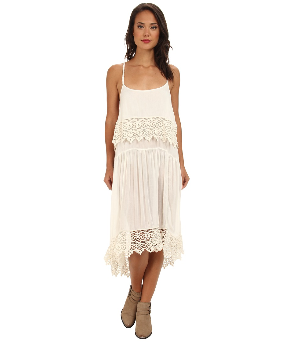 Free People - Star Slip (Ivory) Women's Dress