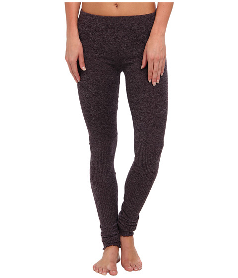 Free People - Heather Knit Legging (Eggplant) Women's Casual Pants