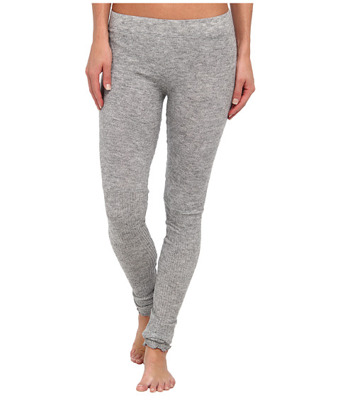 Free People - Heather Knit Legging (Light Grey) Women's Casual Pants