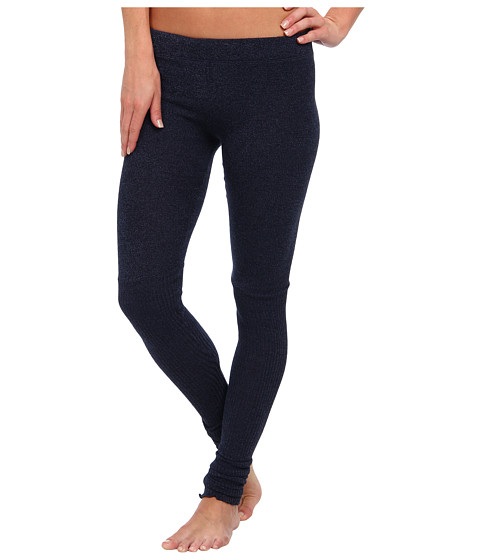 Free People - Heather Knit Legging (True Blue) Women's Casual Pants