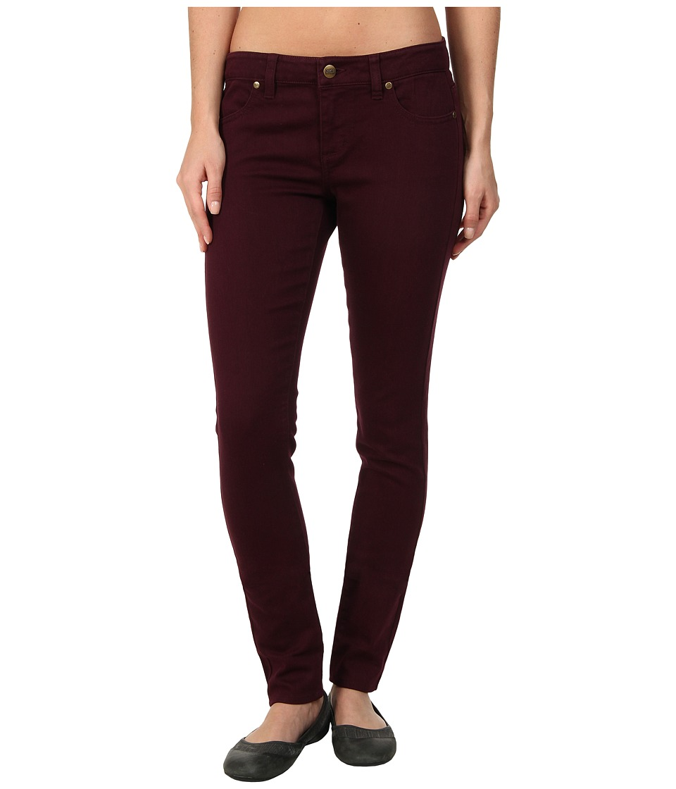 Carve Designs - Whitman Slim Pant (Port) Women