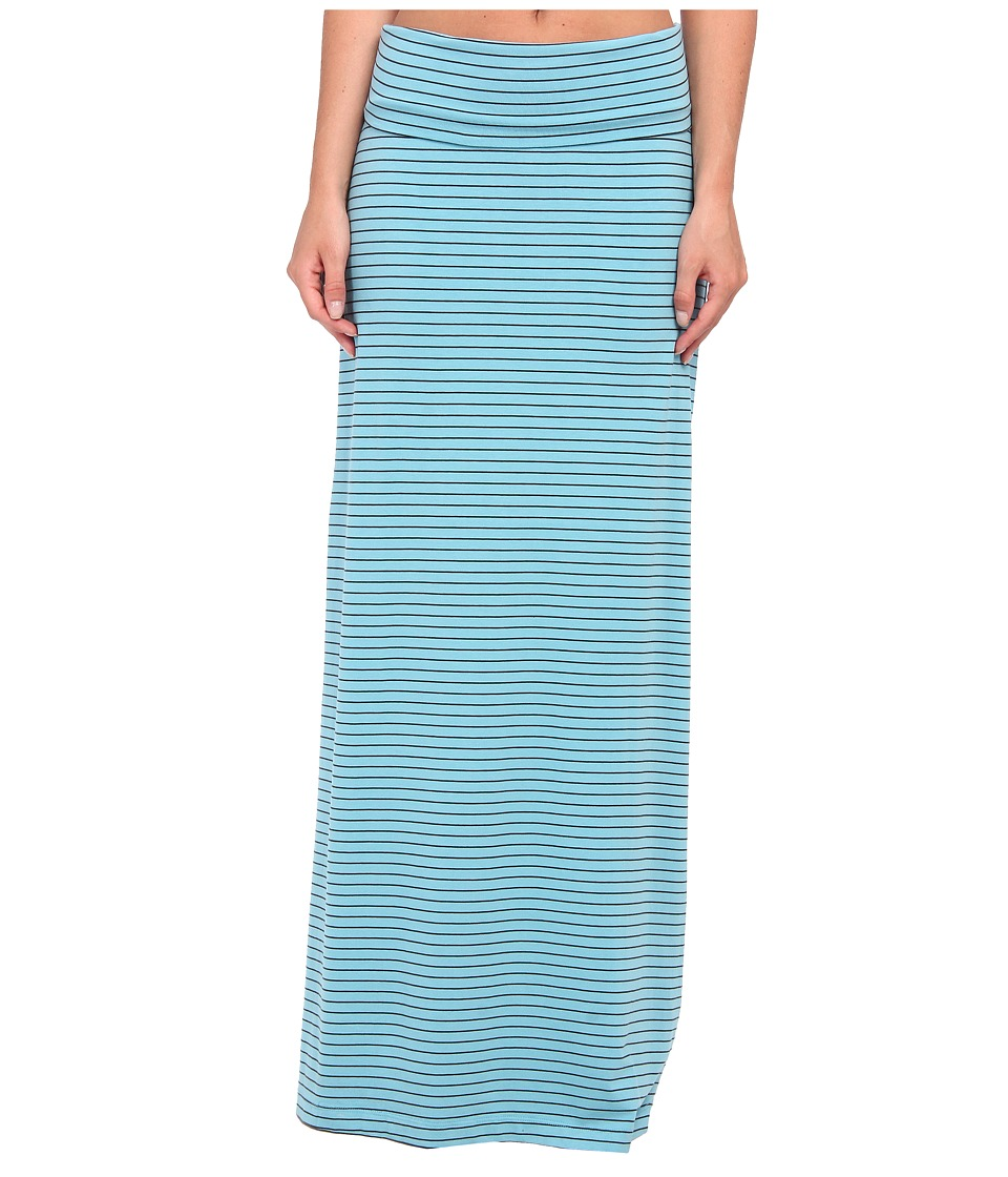 Carve Designs - Abbie Maxi Skirt (Light Tahoe Stripe) Women's Skirt