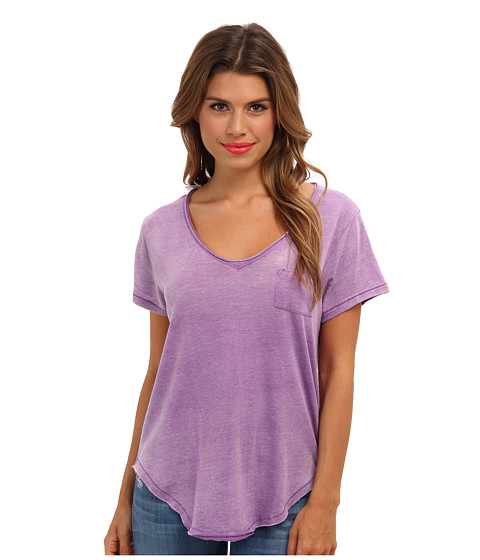 Free People - Wildfire Tee (Orchid) Women