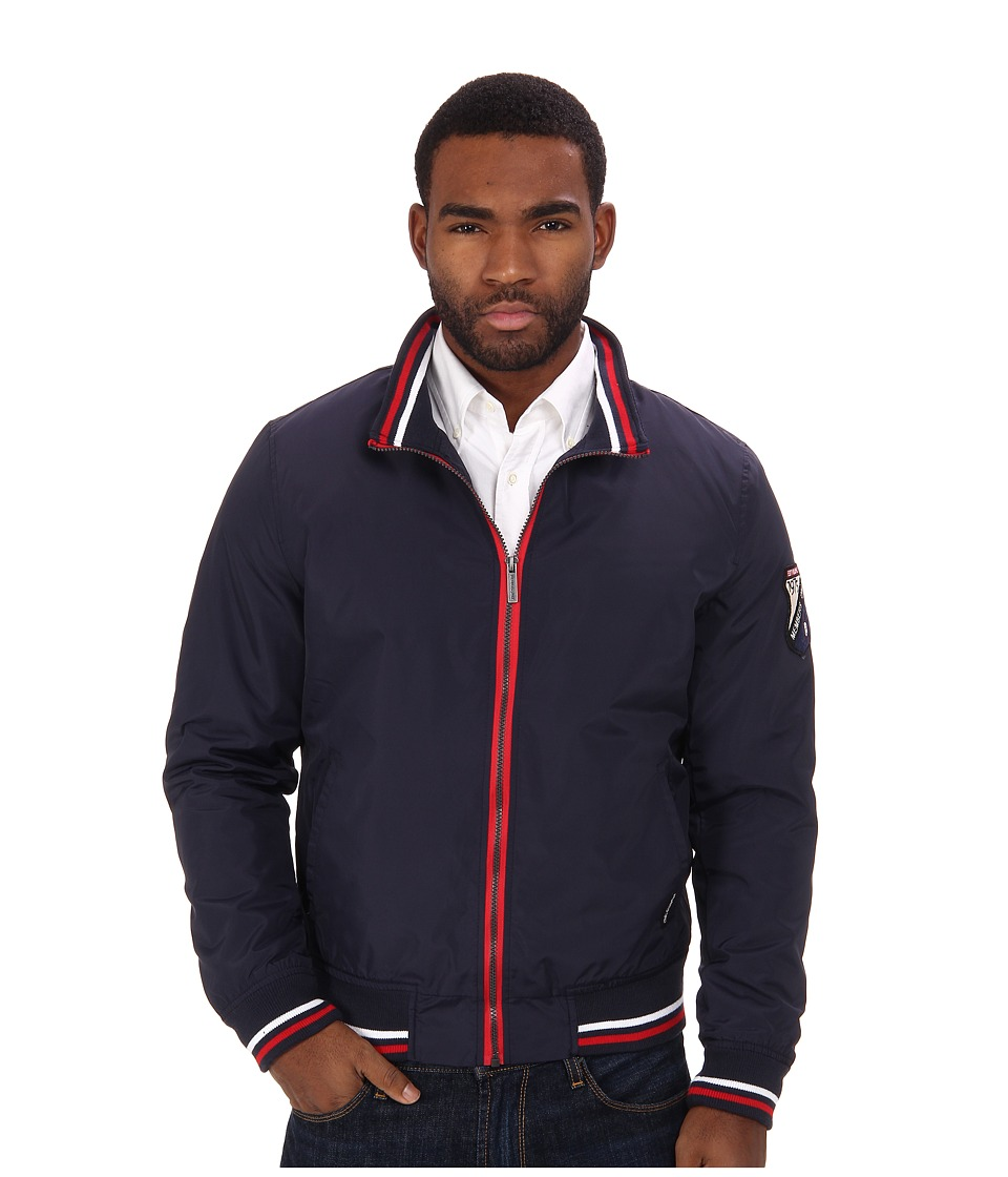 Members Only - Presidential Windbreaker (Navy) Men's Coat