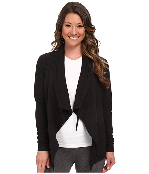 Lucy - Studio Flow Wrap Jacket (Lucy Black) Women's Jacket