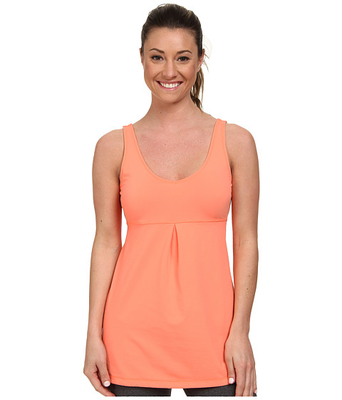 Lucy - Core Up Tunic (Papaya) Women's Workout