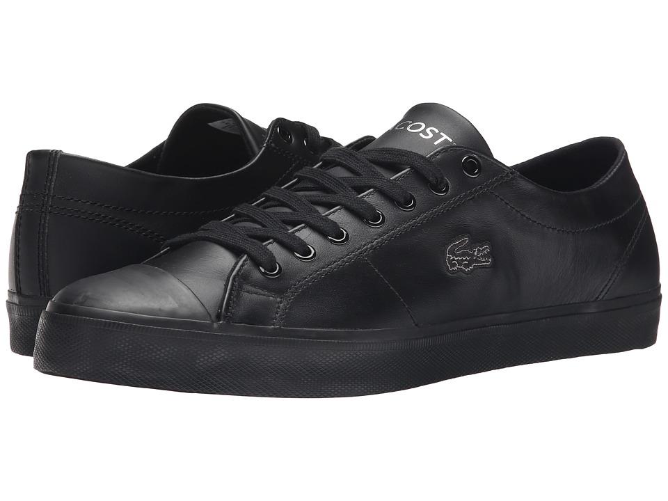 Lacoste - Marcel Chunky TC CTR (Black/Black) Men's Shoes