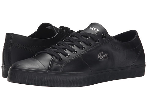 Lacoste - Marcel Chunky TC CTR (Black/Black) Men's Shoes