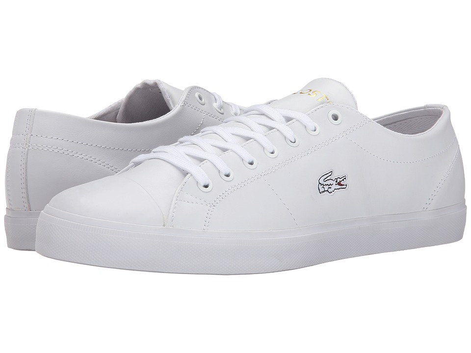 Lacoste - Marcel Chunky TC CTR (White/White) Men's Shoes