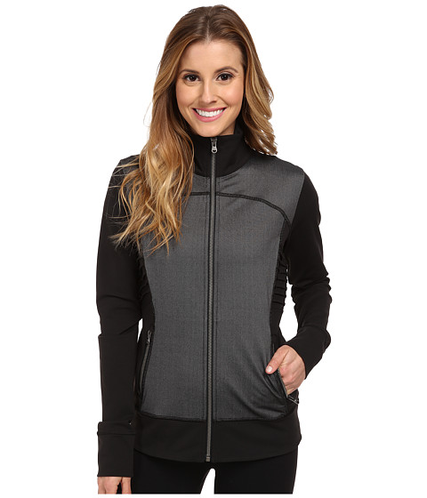 Lucy - Twill Power Pose Jacket (Lucy Black) Women