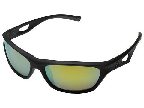 Zeal Optics - Emerge (Black w Polarized Copper + Gold Mirror Lens) Fashion Sunglasses