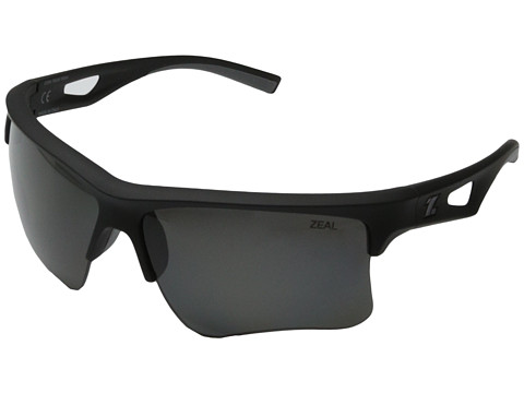 Zeal Optics - Cota Team Edition (Black w / Polarized Dark Grey Lens) Fashion Sunglasses