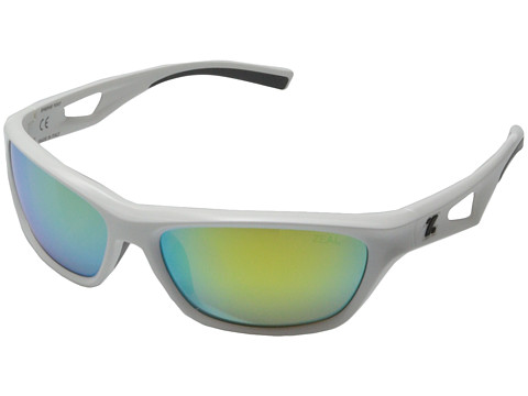 Zeal Optics - Emerge (White w / Polarized Copper + Gold Mirror Lens) Fashion Sunglasses
