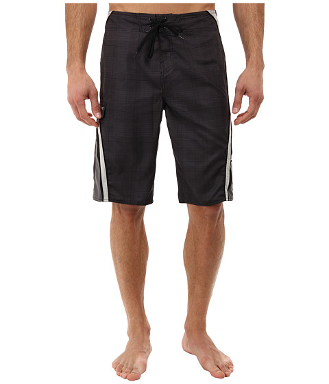 O'Neill - Grinder Boardshorts (Black) Men's Swimwear