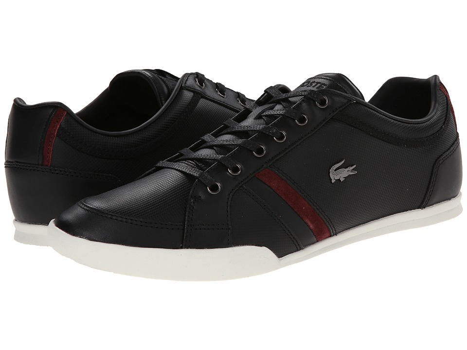 Lacoste - Rayford 7 (Black) Men's Lace up casual Shoes