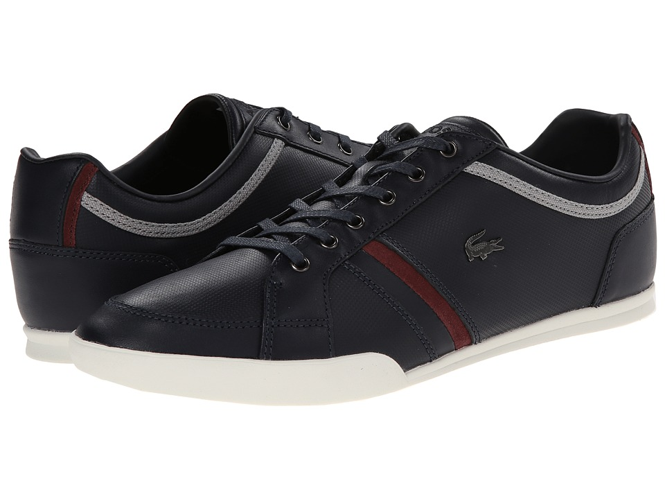 Lacoste - Rayford 7 (Dark Blue) Men's Lace up casual Shoes