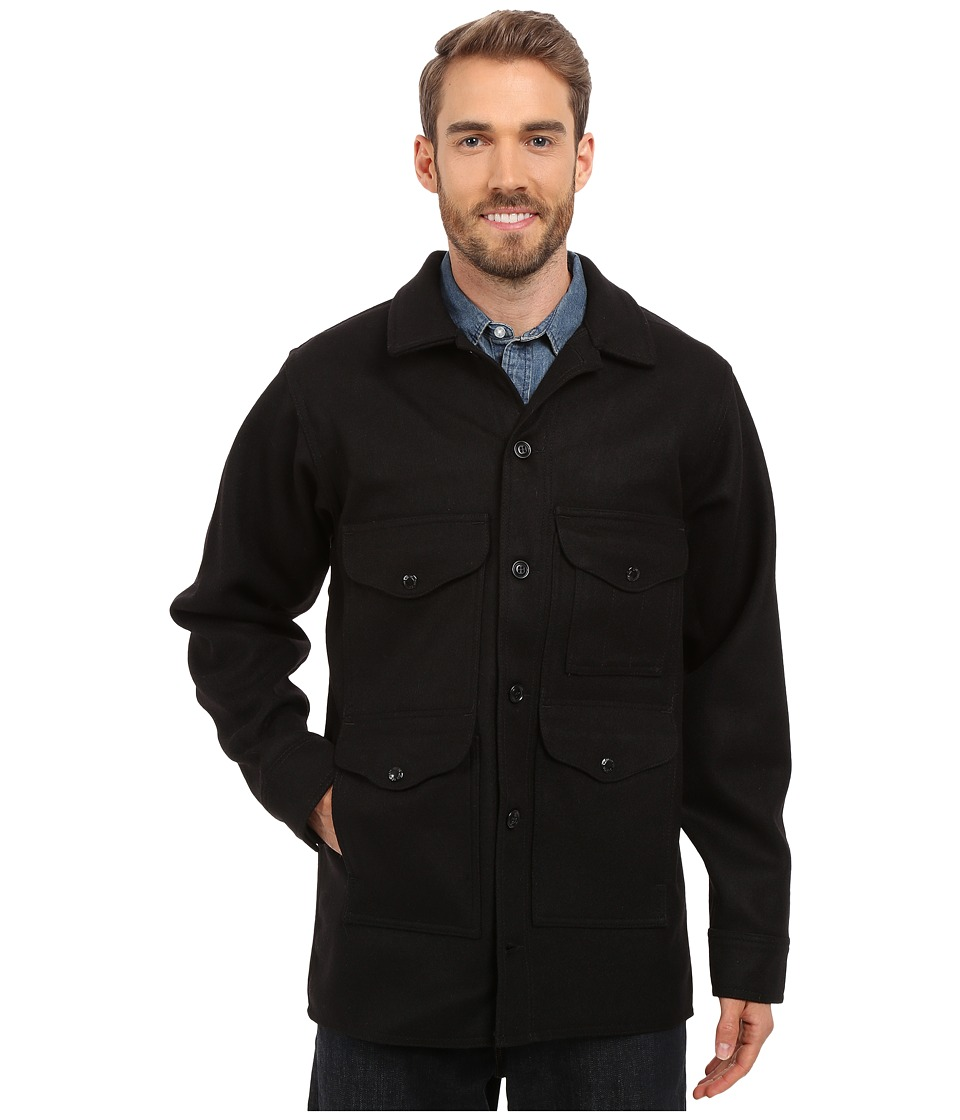 Filson - Mackinaw Cruiser - Extra Long (Black) Men's Coat