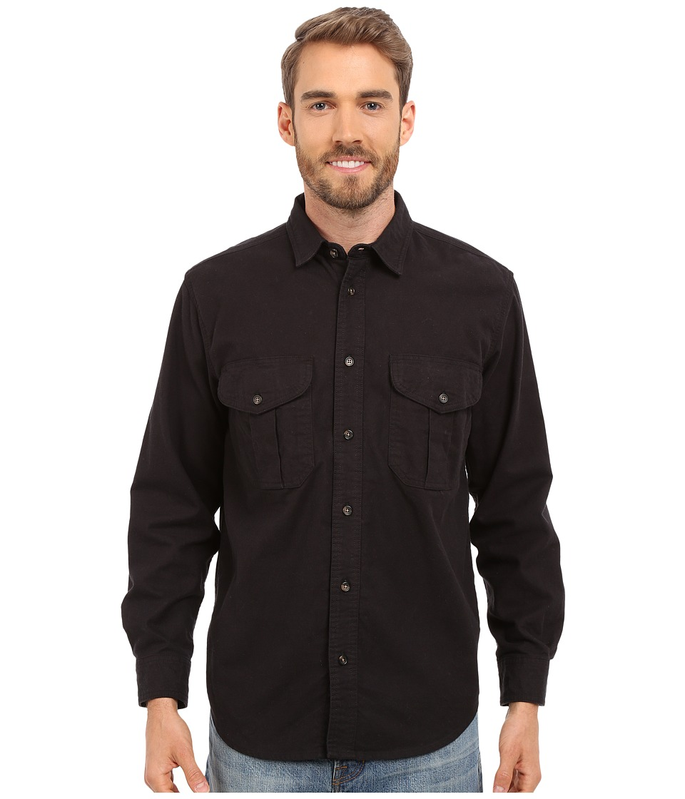 Filson - Alaskan Guide Shirt (Navy) Men's Long Sleeve Button Up