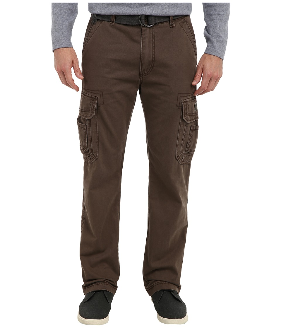 UNIONBAY - Survivor IV Belted Cargo Pant (Saddle) Men's Casual Pants