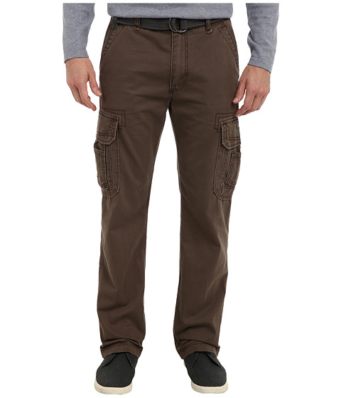 UNIONBAY - Survivor IV Belted Cargo Pant (Saddle) Men