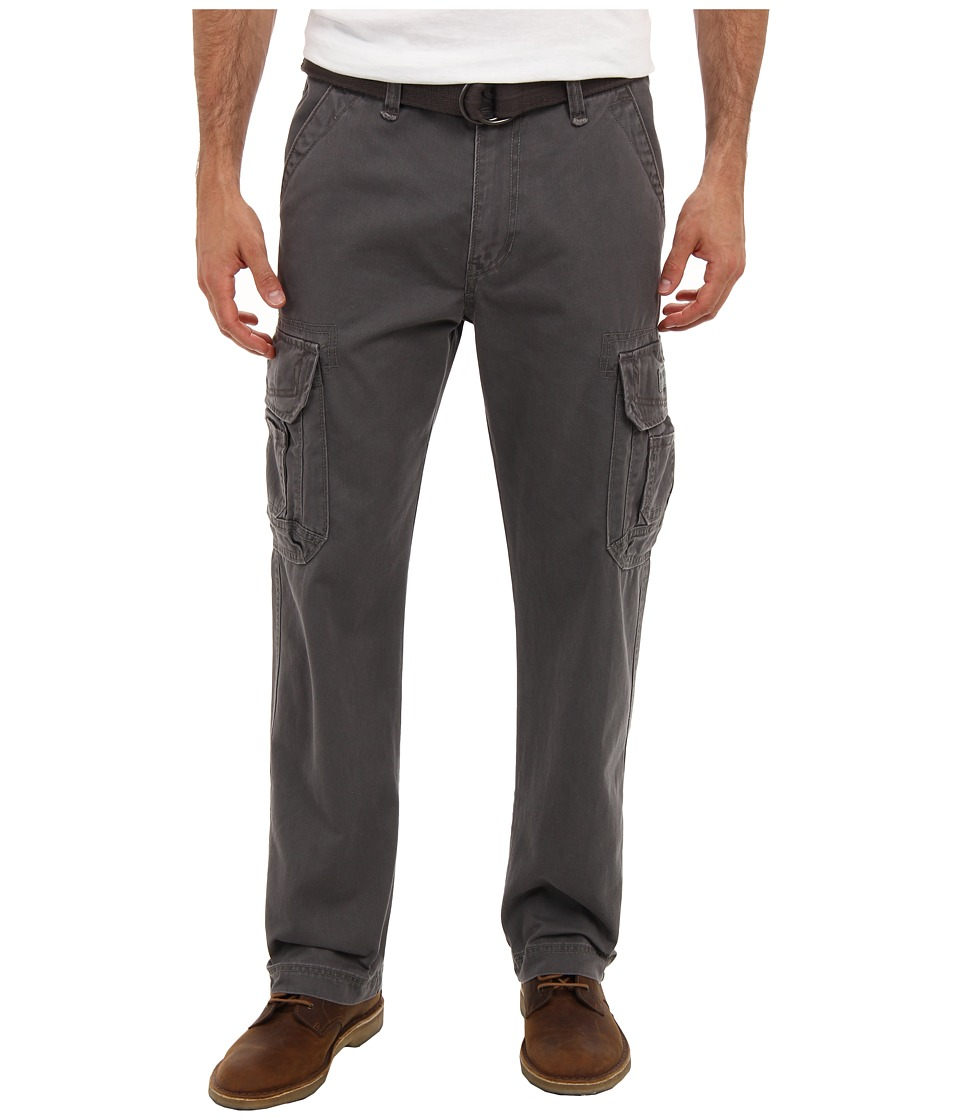 UNIONBAY - Survivor IV Belted Cargo Pant (Satellite) Men's Casual Pants