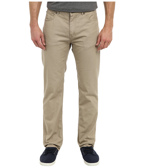 UNIONBAY - 5-Pocket Straight Leg Pant (Desert) Men's Casual Pants