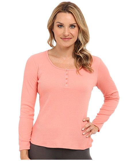 Jockey - L/S Henley Top (Sienna) Women