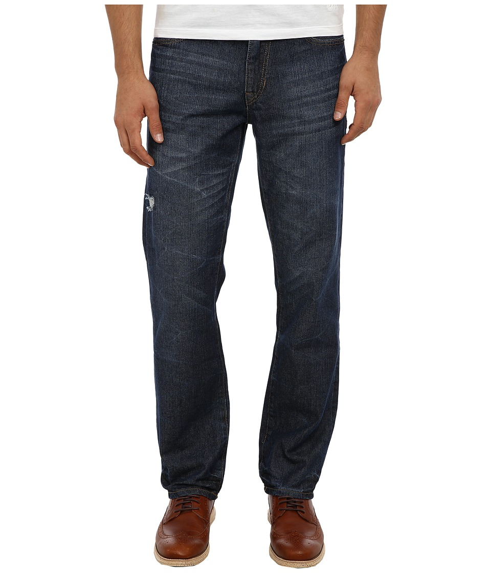 UNIONBAY - Foster 5-Pocket Straight Leg Jean (Worn Greenwich) Men's Jeans