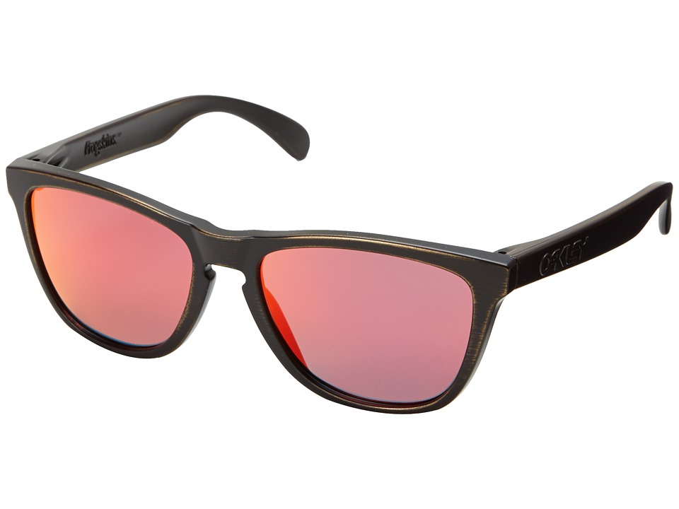 Oakley - Frogskins (Ruby Iridium w/ Brown Decay) Sport Sunglasses