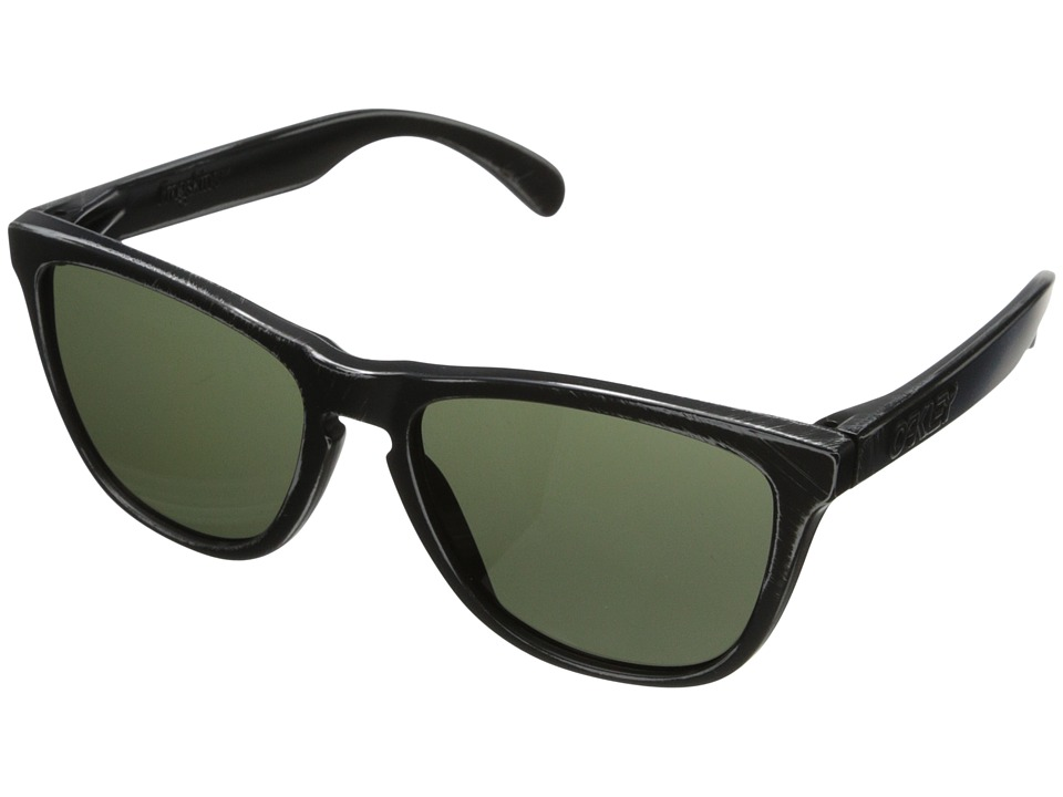 Oakley - Frogskins (Dark Grey w/ Black Decay) Sport Sunglasses