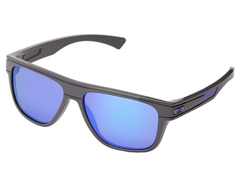 Oakley - Breadbox (Violet Iridium w/ Dark Grey) Sport Sunglasses