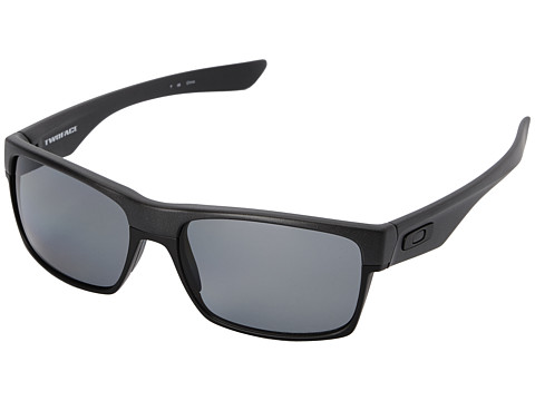 Oakley - Two Face (Grey Polarized w/ Steel) Sport Sunglasses