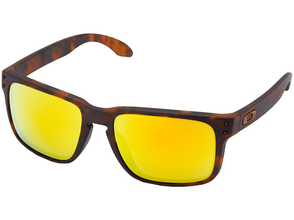 Oakley - Holbrook (Fire Iridium w/ Brown Tortoise) Sport Sunglasses