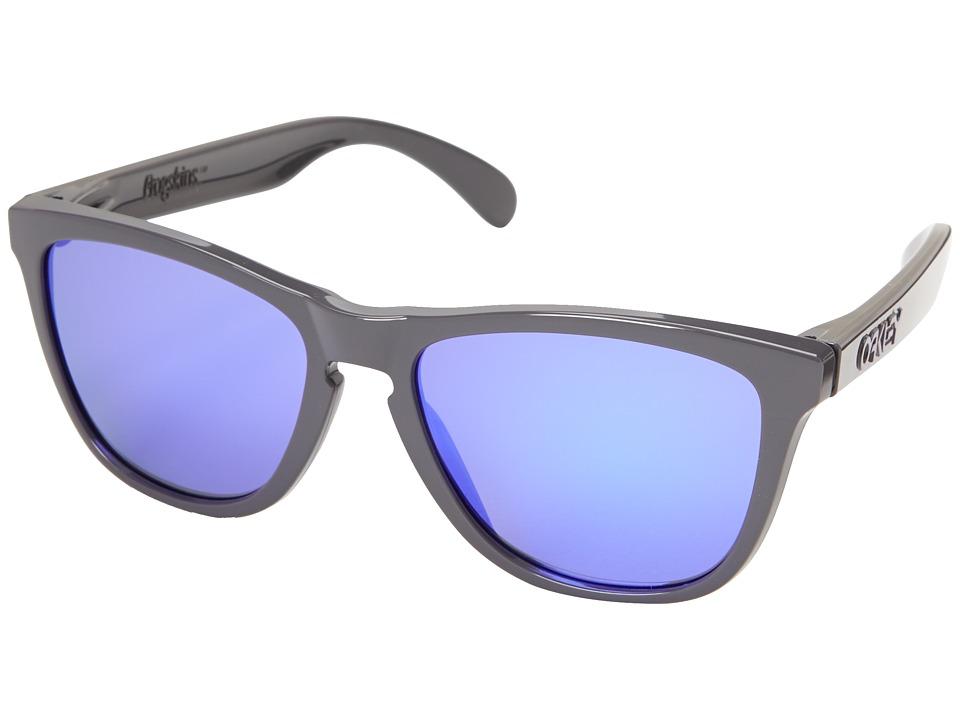 Oakley - Frogskins (Violet Iridium w/ Dark Grey) Sport Sunglasses