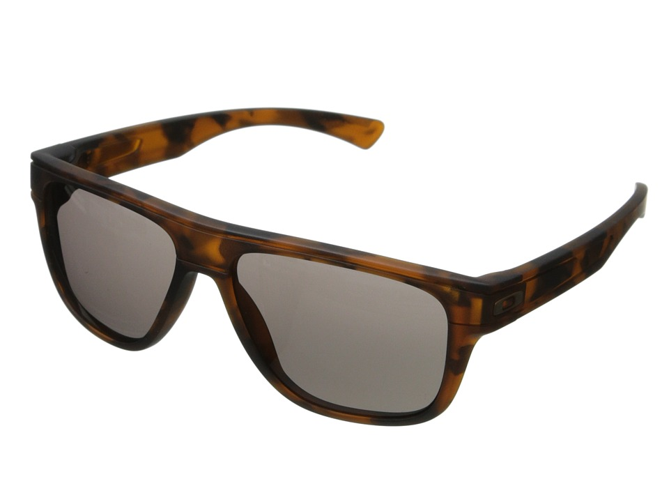 Oakley - Breadbox (Warm Grey w/ Brown Tortoise) Sport Sunglasses