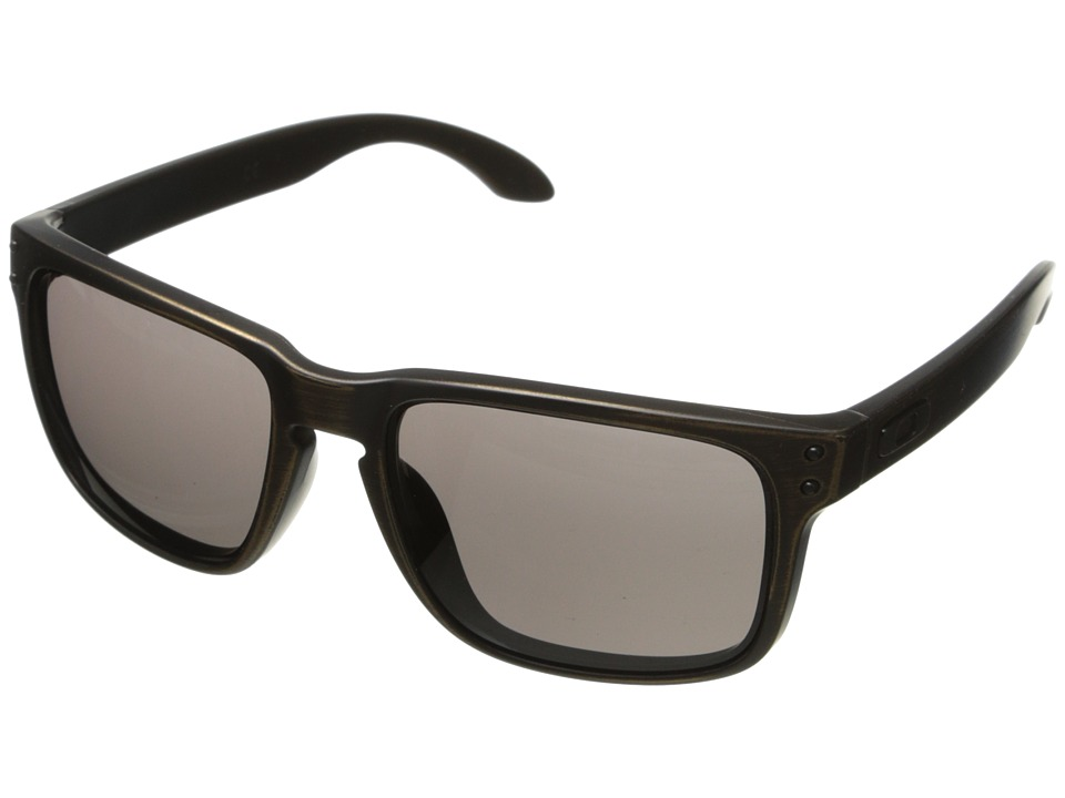 Oakley - Holbrook (Warm Grey w/ Brown Decay) Sport Sunglasses