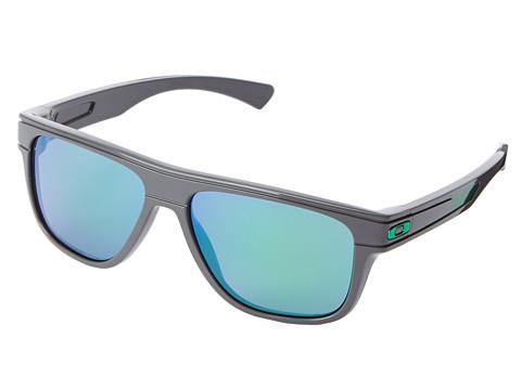 Oakley - Breadbox (Jade Iridium w/ Dark Grey) Sport Sunglasses