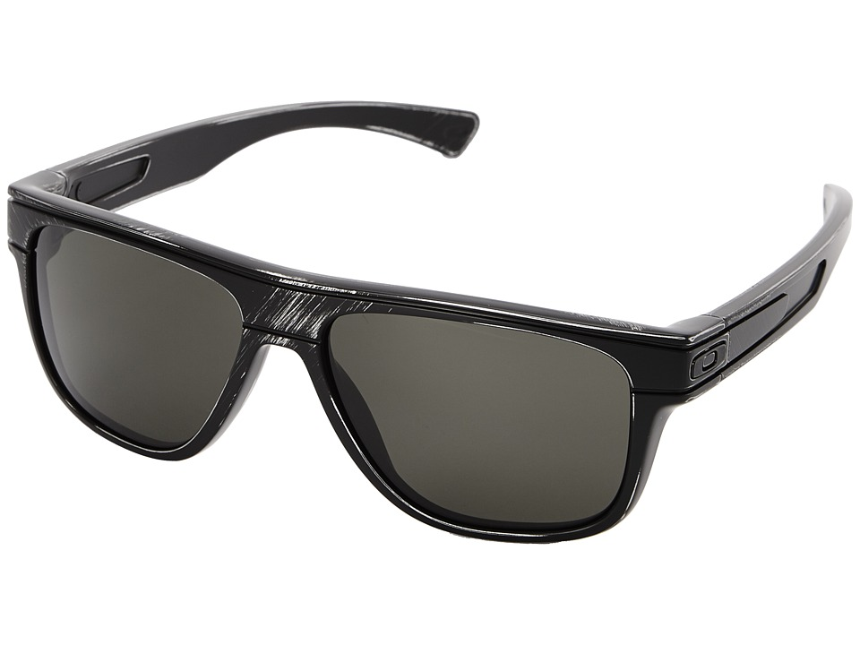 Oakley - Breadbox (Dark Grey w/ Black Decay) Sport Sunglasses