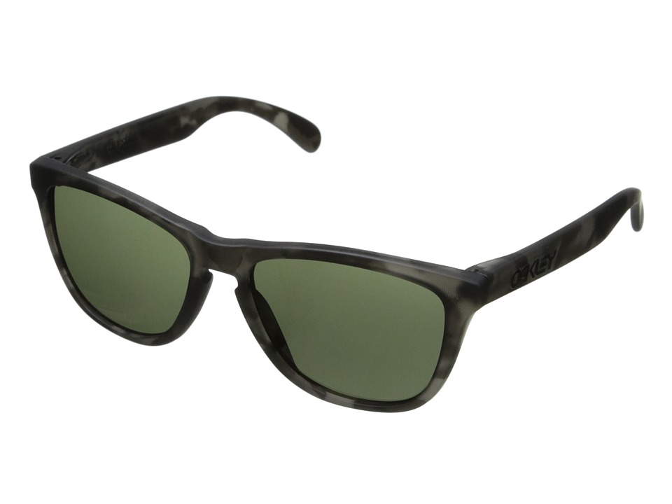 Oakley - Frogskins (Dark Grey w/ Black Tortoise) Sport Sunglasses