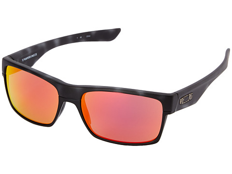 Oakley - Two Face (Ruby Iridium w/ Black Tortoise) Sport Sunglasses
