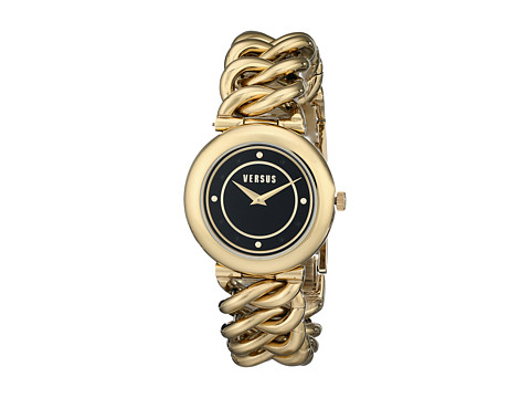 Versus Versace - Brickell (Yellow Gold/Black) Watches