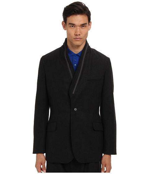 adidas Y-3 by Yohji Yamamoto - Flannel Blazer (Charcoal Melange) Men's Jacket