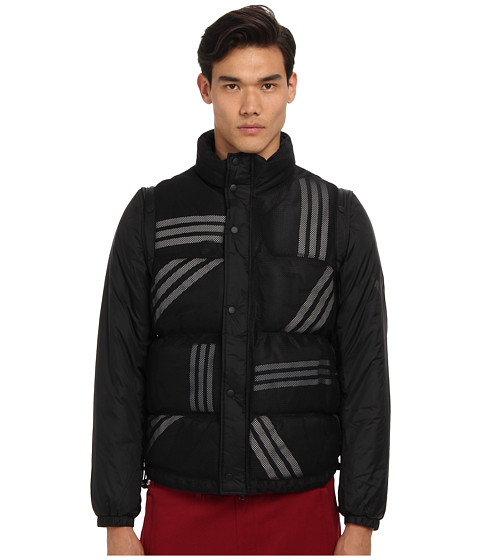 adidas Y-3 by Yohji Yamamoto - Convertible Jacket (Black) Men
