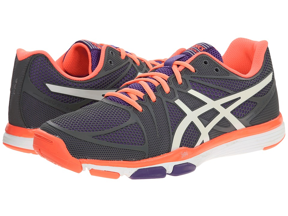 ASICS - GEL-Exert TR (Titanum/White/Concord Grape) Women's Cross Training Shoes