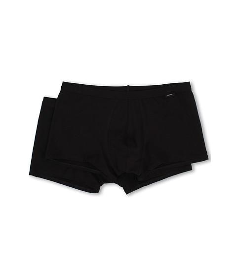 Jockey - Cotton Stretch Low-Rise Trunk 2-Pack (Black) Men