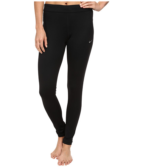Nike - Relay Tight (Black/Black/Reflective Silver) Women's Workout