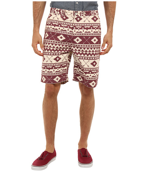 J.A.C.H.S. - Southwest Print Bermuda Short (Russet Brown) Men's Shorts